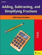 Adding, Subtracting, and Simplifying Fractions