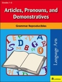 Articles, Pronouns, and Demonstratives