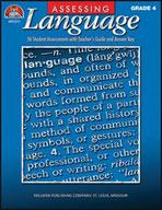 Assessing Language - Grade 4