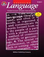 Assessing Language - Grade 5 (Enhanced eBook)