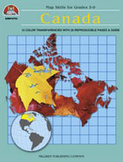 Canada Map Skills (Enhanced eBook)
