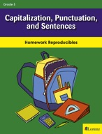 Capitalization, Punctuation, and Sentences
