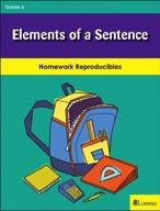 Elements of a Sentence