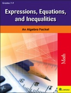 Expressions, Equations, and Inequalities