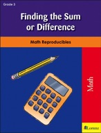 Finding the Sum or Difference