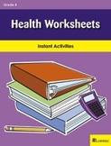 Health Worksheets