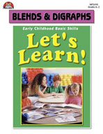 Let's Learn! Blends and Digraphs (Enhanced eBook)