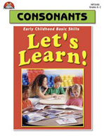 Let's Learn! Consonants (Enhanced eBook)