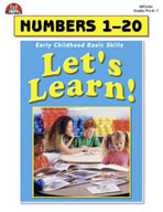Let's Learn! Numbers 1-20 (Enhanced eBook)