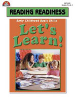 Let's Learn! Reading Readiness Activities (Enhanced eBook)