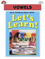 Let's Learn! Vowels (Enhanced eBook)