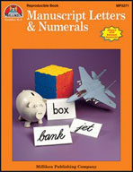 Manuscript Letters & Numerals (Enhanced eBook)