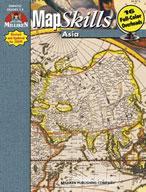 Map Skills Asia (Enhanced eBook)