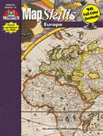 Map Skills Europe (Enhanced eBook)