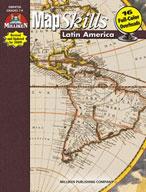 Map Skills Latin America