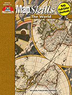 Map Skills The World (Enhanced eBook)