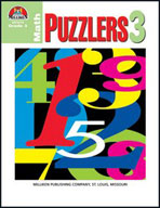 Math Puzzlers Grade 3 (Enhanced eBook)