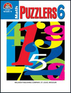 Math Puzzlers Grade 6