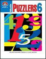 Math Puzzlers Grade 6 (Enhanced eBook)