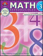 Math Reproducibles - Grade 3 (Enhanced eBook)