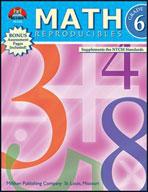 Math Reproducibles - Grade 6 (Enhanced eBook)