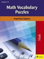 Math Vocabulary Puzzles