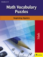 Math Vocabulary Puzzles