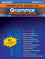 Milliken's Complete Book of Grammar Reproducibles: Grades 3,4