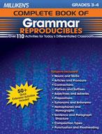 Milliken's Complete Book of Grammar Reproducibles: Grades 3,4 (Enhanced eBook)