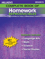 Milliken's Complete Book of Homework Reproducibles: Grade 5