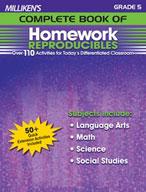 Milliken's Complete Book of Homework Reproducibles: Grade 5 (Enhanced eBook)