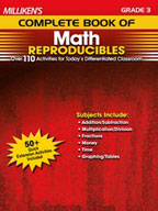 Milliken's Complete Book of Math Reproducibles: Grade 3