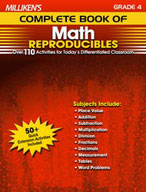 Milliken's Complete Book of Math Reproducibles: Grade 4 (Enhanced eBook)