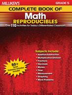 Milliken's Complete Book of Math Reproducibles: Grade 5 (Enhanced eBook)