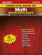 Milliken's Complete Book of Math Reproducibles: Grade 6 (Enhanced eBook)