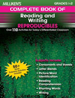 Milliken's Complete Book of Reading and Writing Reproducibles: Grades 1,2 (Enhanced eBook)