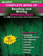 Milliken's Complete Book of Reading and Writing Reproducibles: Grades 5,6 (Enhanced eBook)