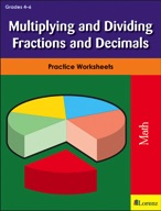 Multiplying and Dividing Fractions and Decimals