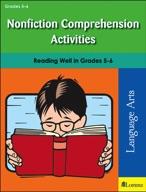 Nonfiction Comprehension Activities