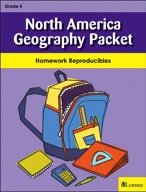 North America Geography Packet