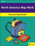 North America Map Work