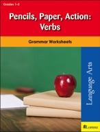 Pencils, Paper, Action: Verbs
