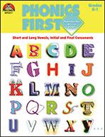 Phonics First - Grades K-1 (Enhanced eBook)