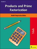 Products and Prime Factorization
