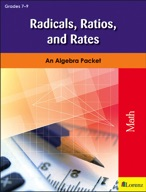 Radicals, Ratios, and Rates