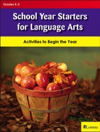 School Year Starters for Language Arts