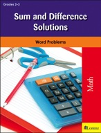 Sum and Difference Solutions