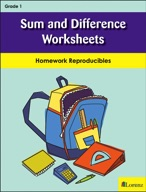 Sum and Difference Worksheets