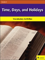 Time, Days, and Holidays