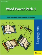 Word Power Pack 1 for Grades 4-5